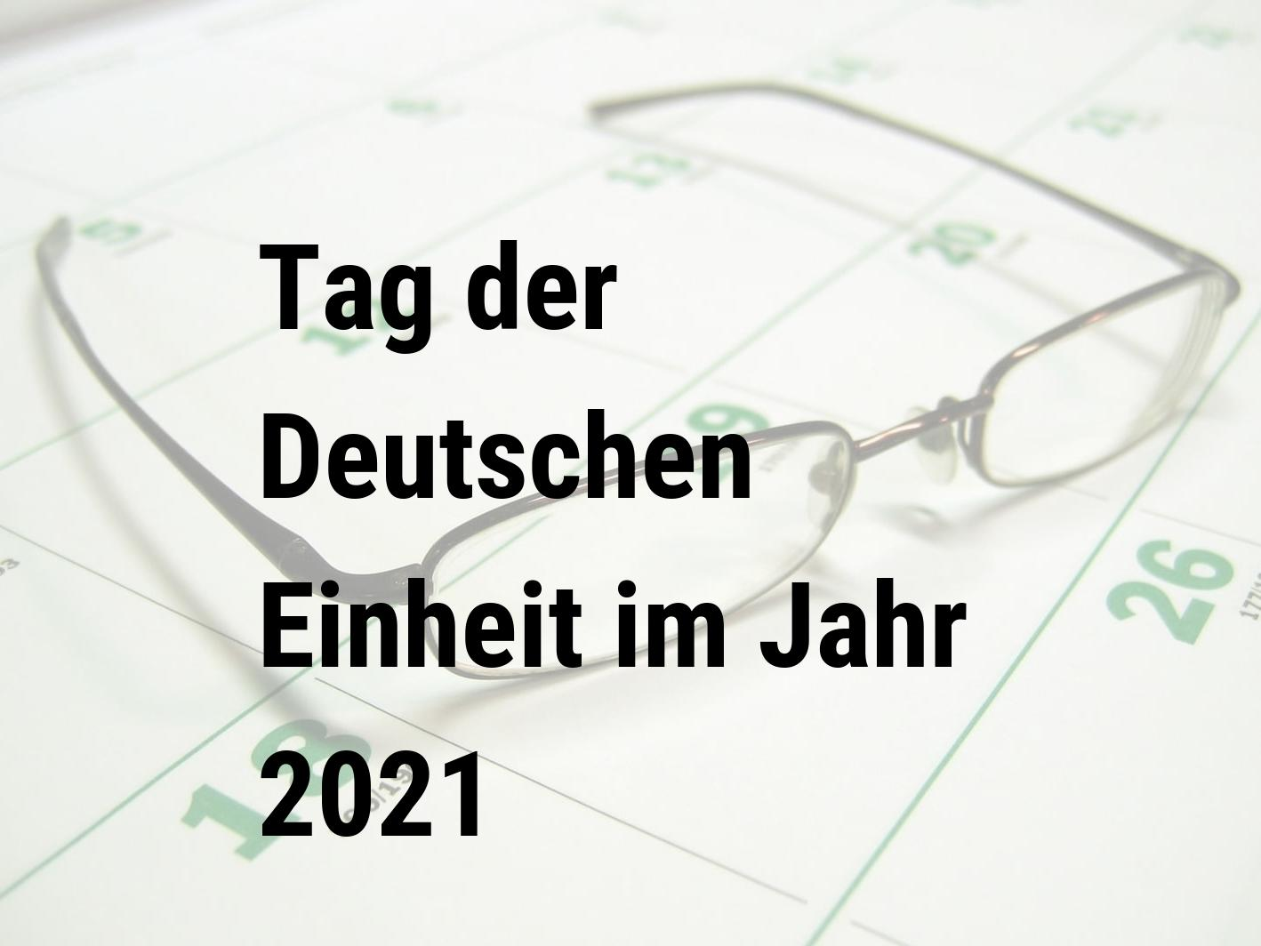 Tag Der Einheit 2021 Berlin
